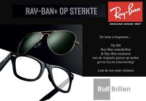 Ray Ban op sterkte